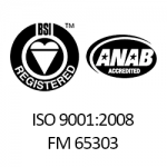 BSI ISO 9001:2008 Certification
